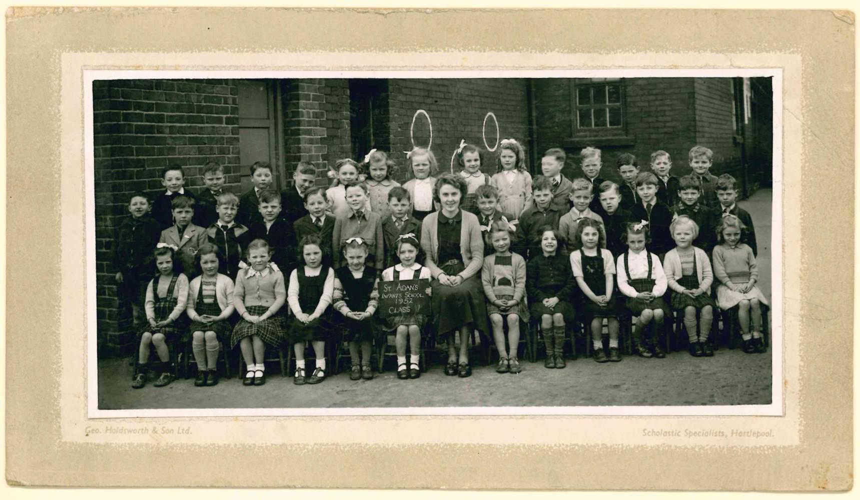 St Aidans CE Primary School - The 1950s